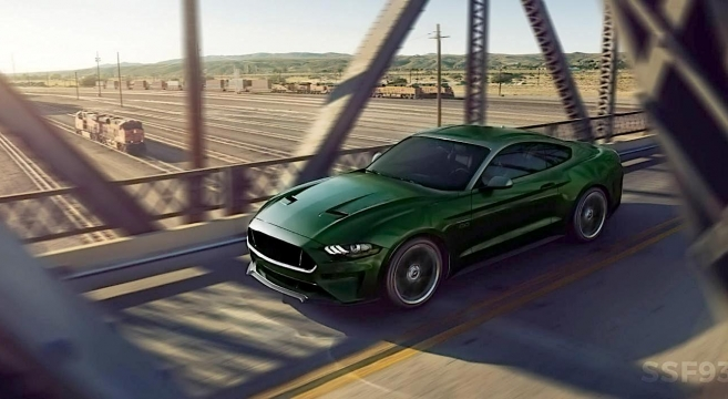 2018 Mustang Bullitt Rendered 2017 Forum News Blog S550 Gt Gt350 Gt500 I4 V6 Mustang6g The Ultimate 6th Generation