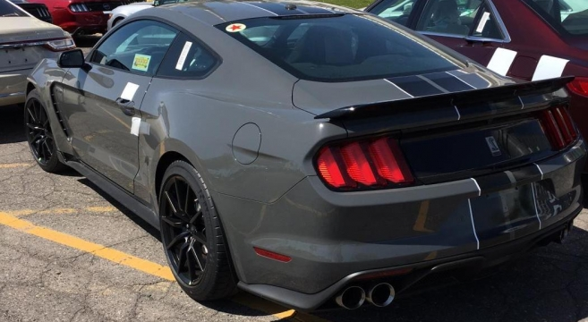 Lead Foot Gray 2018 GT350 | 2015+ Mustang Forum News Blog (S550 GT, GT350, GT500, I4, V6 ...