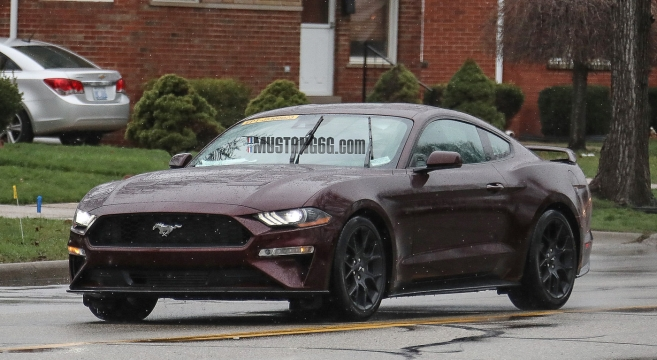 2018 Mustang Gt Ecoboost Spied With New Colors Wheels