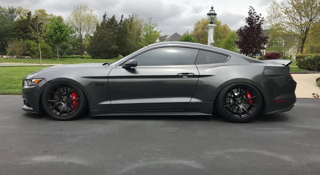 2015 17 Mustang Airlift Performance Suspension Kit