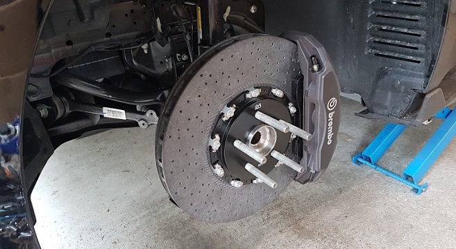 Rb Performance 2016 Gt350 Carbon Ceramic Front Rotors Kit