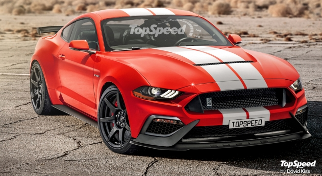 New 2019 GT500 Mustang Rendering | 2015+ Mustang Forum ...