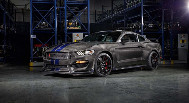Speedkore Carbon Fiber Gt350r On Jay Leno S Garage 2015