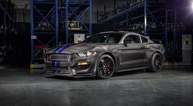Carbon Fiber 600 Horsepower 2017 Ford Gt: SpeedKore Carbon Fiber GT350R On Jay Leno's Garage