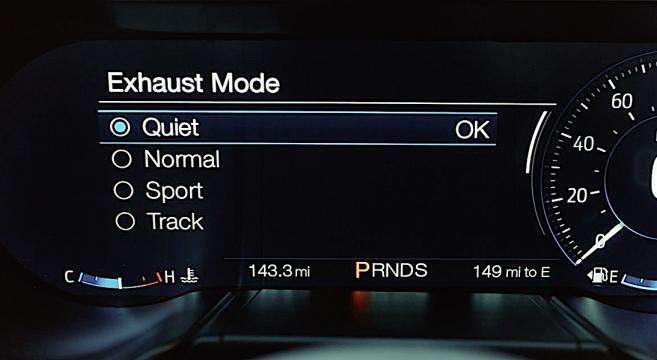 2018 Mustang Gt S Quiet Exhaust Mode