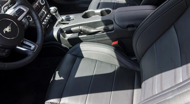 mustangs  woodward    midnight blue interior trim  mustang forum news