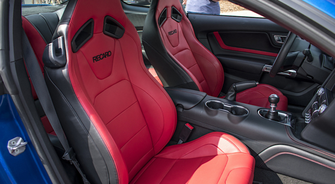 Showstopper Red 2018 Mustang Interior | 2015+ Mustang Forum News Blog (S550  GT, GT350, GT500, I4, V6) U2013 Mustang6G | The Ultimate 6th Generation Mustang  ...