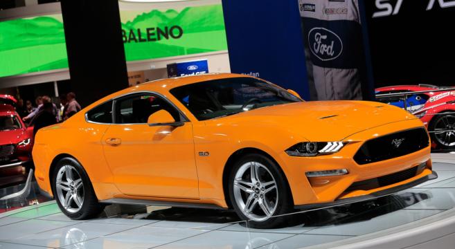 2018 Mustang GT at Frankfurt Auto Show | 2015+ Mustang Forum News Blog (S550 GT, GT350, GT500 ...