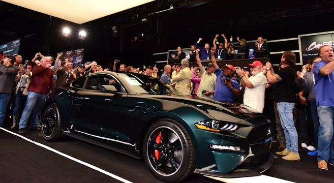2019 Bullitt Mustang Vin001 Sold For 300k In Charity