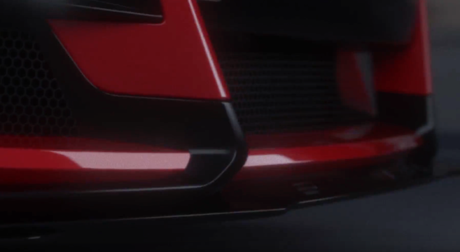 shelby gt mustang officially announced  teaser video supercharged