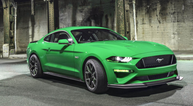 Mustang Gt Tuning >> Spinel Green 2019 Mustang Rendered | 2015+ Mustang Forum News Blog (S550 GT, GT350, GT500, I4 ...