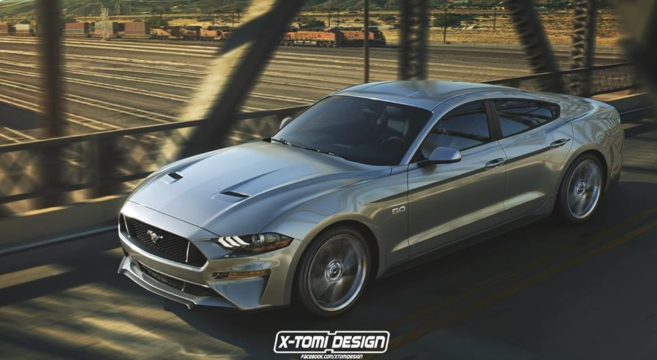 4-Door Mustang Is Coming, Ford Allegedly Reveals to Dealers