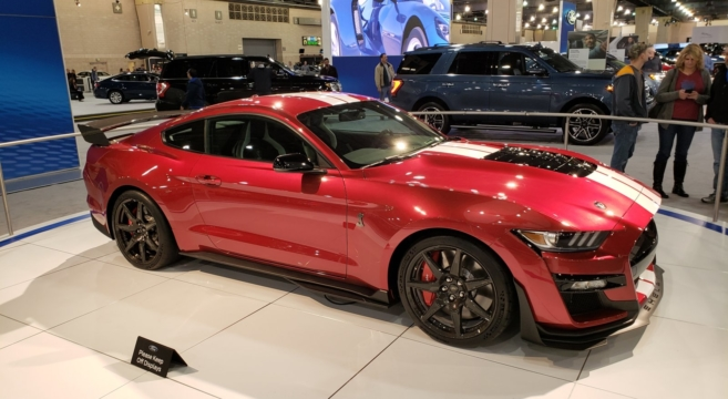 Several 2020 GT500 Making the Rounds at US Auto Shows | 2015+ Mustang Forum News Blog (S550 GT ...