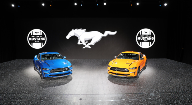 Here's Our First Live Look At The 2020 Mustang 2 3L High