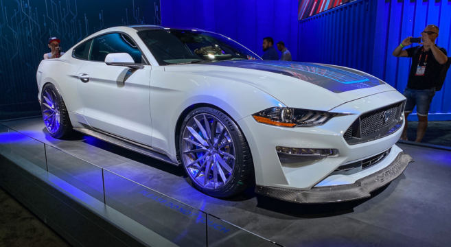 Live Mustang Lithium Electric Prototype From Sema 2019